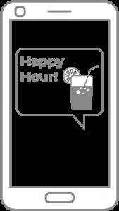 Angebote über die elektronische Speisekarte teilen und bewerben