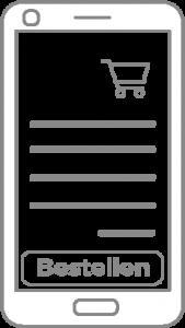 Direkt in der digitalen Speisekarte Bestellungen durchführen