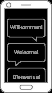 Weitere Sprachen zur Ihrer digitalen Speisekarte hinzufügen